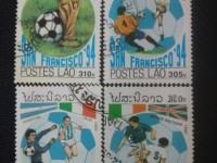 我的收藏——足球邮票(五)