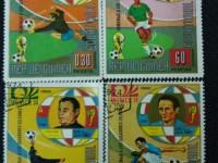 我的收藏——足球邮票(三)