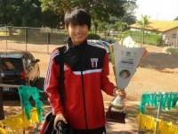 河北精英巫林峰租借博塔佛戈 成为征战巴西职业足球年龄最小中国球员