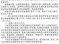 罚单:矫喆与乔巍冲突各停3场 踩踏永昌球员的罗西停4月