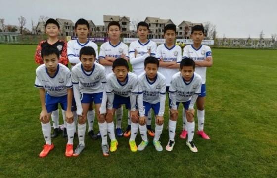 U14锦标赛:永昌不敌绿城 获22名 华夏胜长春亚泰获季军