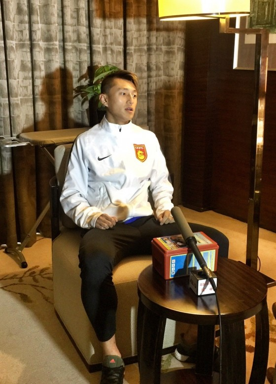 专访丁海峰 做好自己迎接新赛季