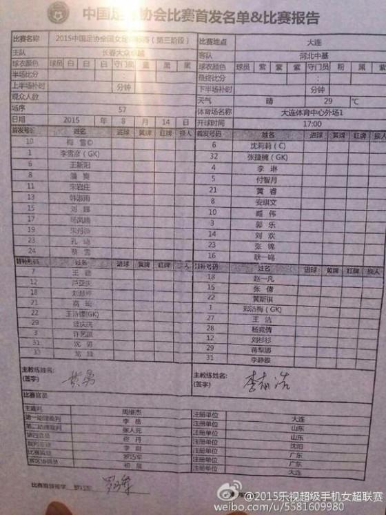 2015女足锦标赛河北中基hubei