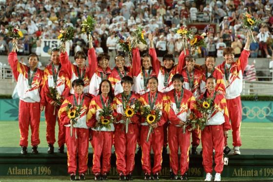 (4)足球——中國女足奧運征程