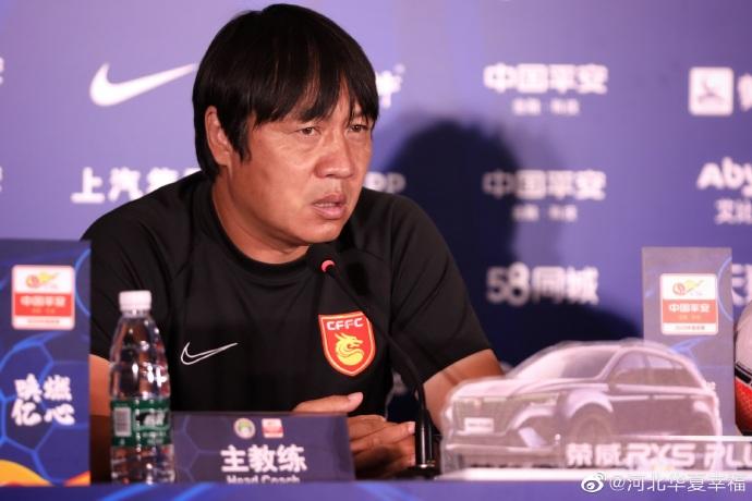 谢峰:大家非常渴望比赛的胜利