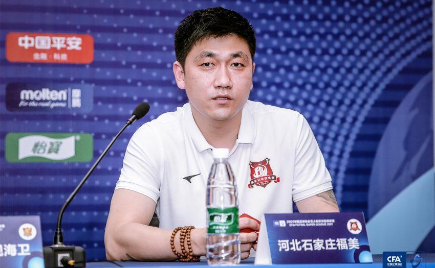 五超|福美主帅李建磊:福美面对困难 新赛季争取稳步提升